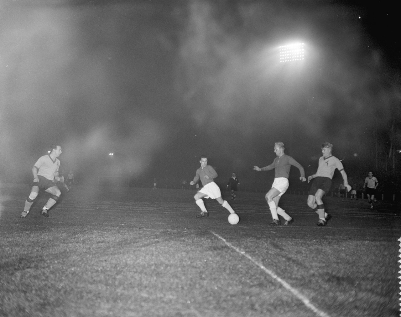 Dutch national team v South Africa (9-3), 12 November 1958, FASA